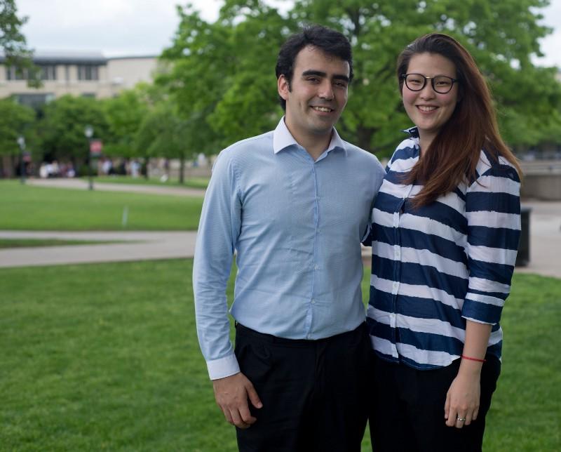 Pablo Santaeufemia and Jessica Kou of Bridge for Billions