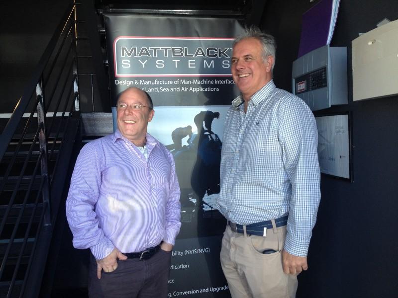 Julian Wilson and Andrew Holm—Matt Black Systems