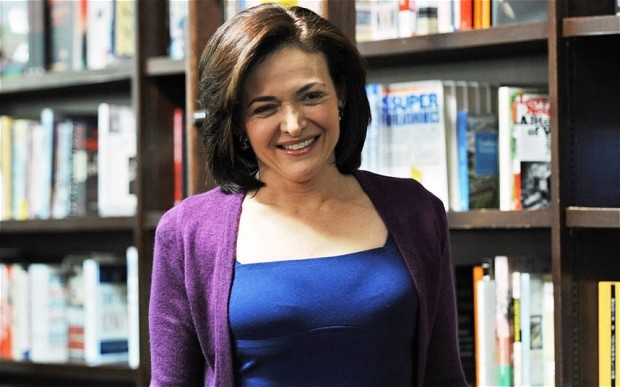 Sheryl Sandberg — The Telegraph
