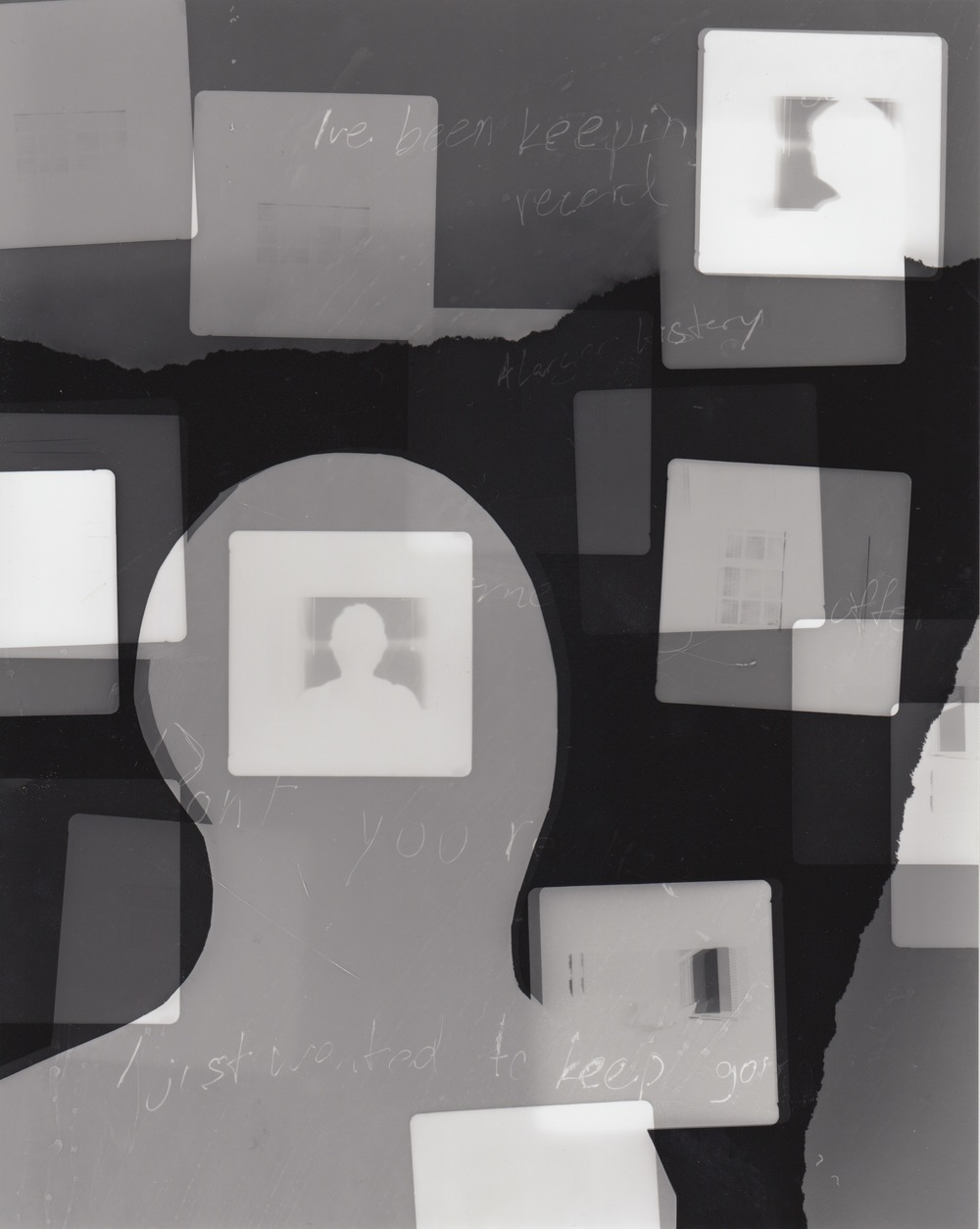 I've been keeping a record (4) - Photogram