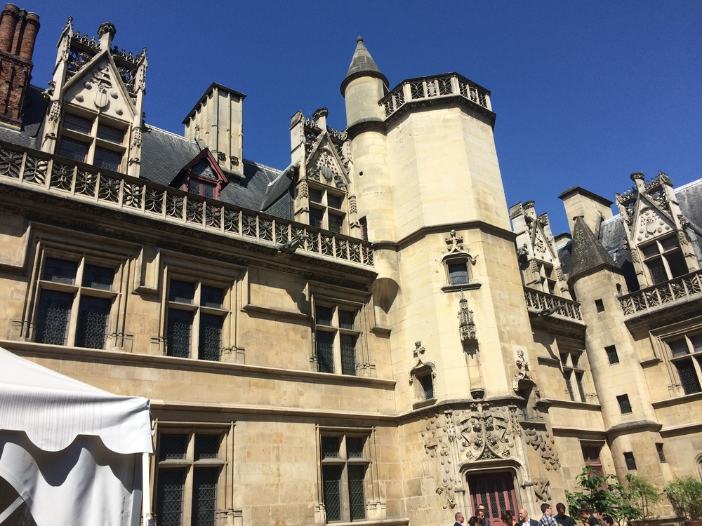 The facade of the Hotel de Cluny, now home to the museum.
