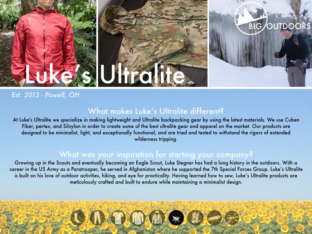Luke's Ultralite