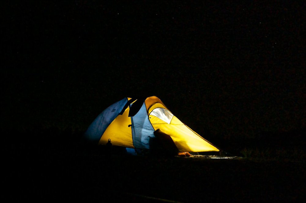 Missouri River Trip_Tent at Night.jpeg