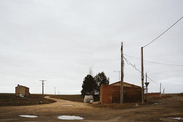 New PHOTO project #caminos #rural #borders #photography #newproject #conexiones #valladolid #esolympus