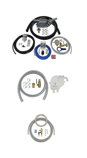 Installation Kits - Our installation kit contains the same high quality parts we use in our own installations and is the most comprehensive kit available on the market.