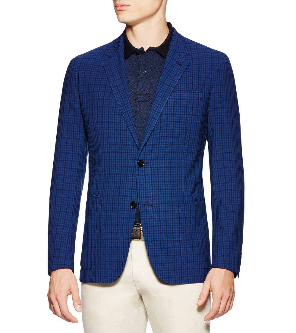 This unlined jacket is even lighter with resilient High Performance wool.