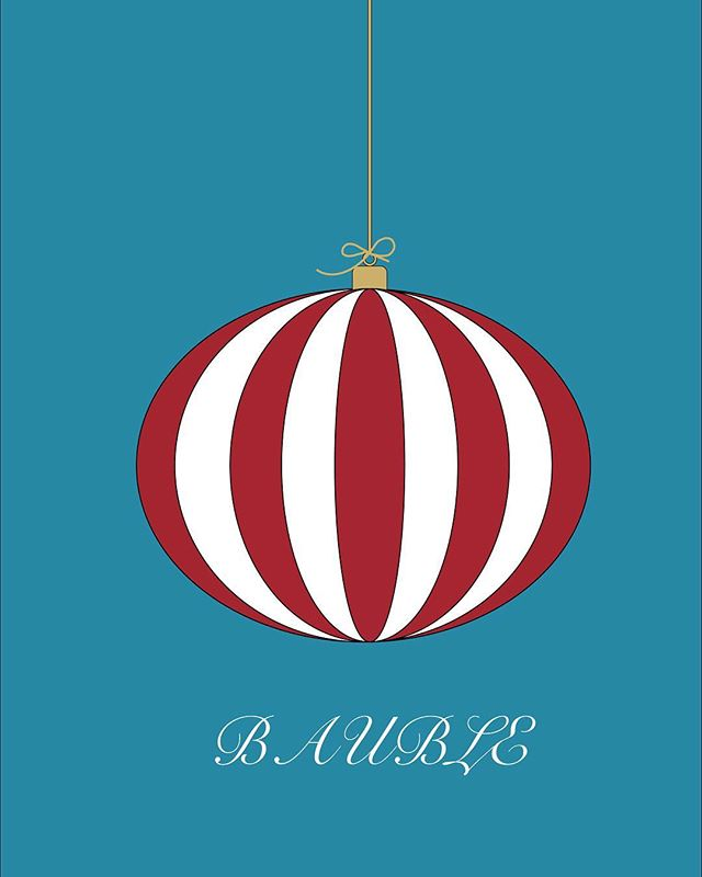 Today's advent post was a little bit rushed in between working on client projects. . Therefore, for day 2 we present the world's largest bauble! . Comment below with ideas for illustrations during the countdown to Christmas.