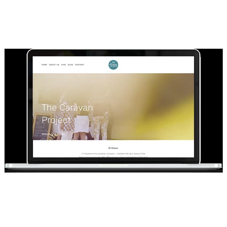 The Caravan Project    site design