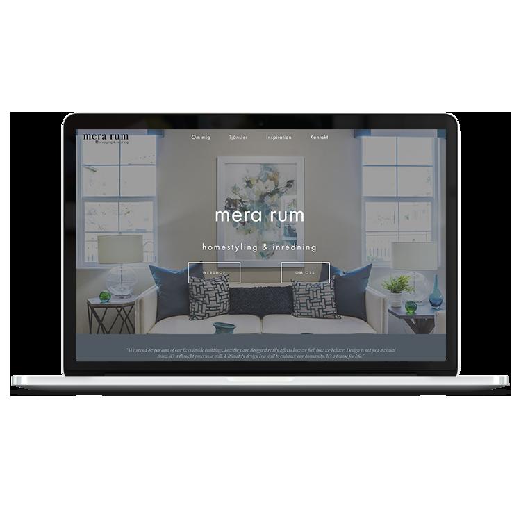 Mera Rum   e-commerce design
