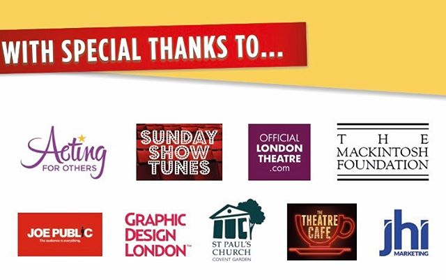 ‪So many people to thank for their generosity and making the #WestEndBakeOff a success. We quite simply couldn't do it without them. ❤️‬ . . . . . . #charity #help #generous #company #westend #theatre #bakeoff #event #fundraise #london #kind #support