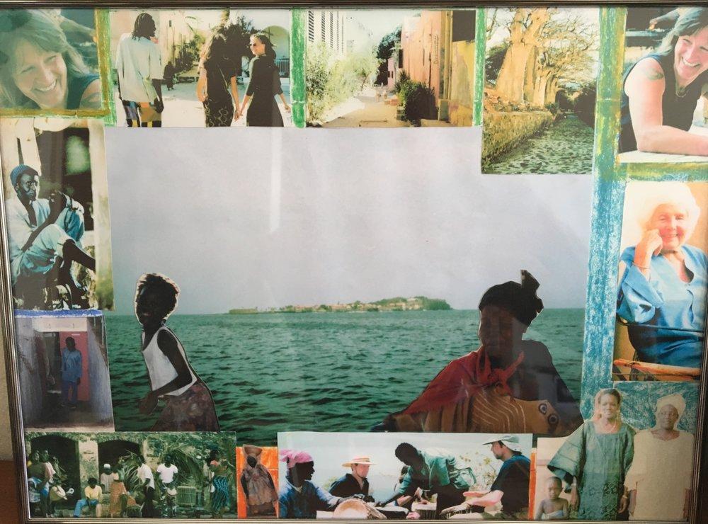Een collage die ik jaren geleden voor mijn moeder maakte.