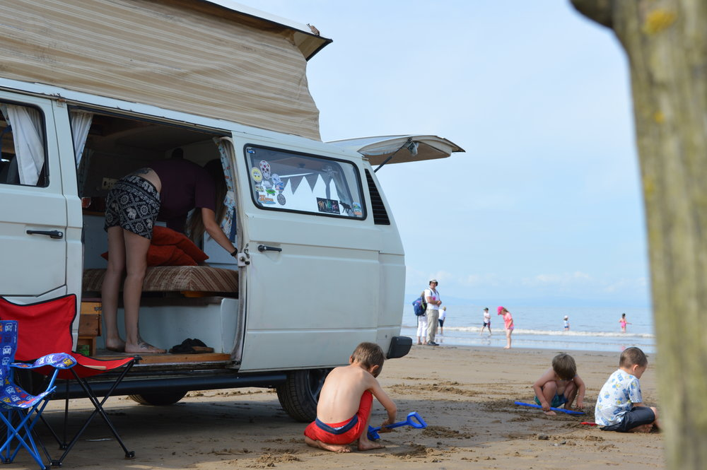 The only VW on the beach