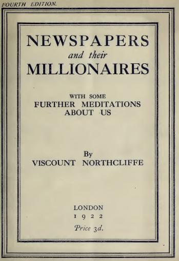 newspaper millionaires