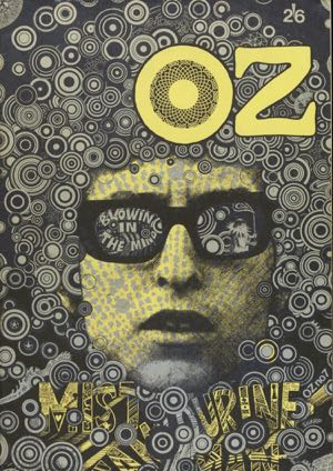 Martin Sharp's cover for issue 7 of Oz is now a design classic but the magazine's editors were imprisone