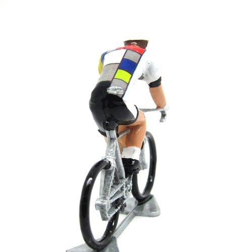 the model cyclist — La Vie Claire jersey b062d2290