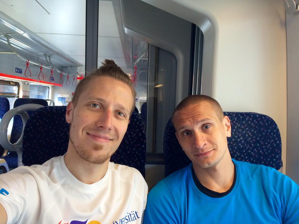 Bratislava training run