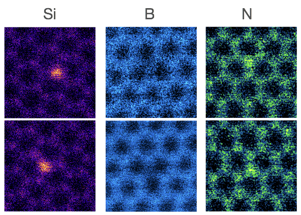 Towards atomically precise manipulation of 2D nanostructures in the electron microscope