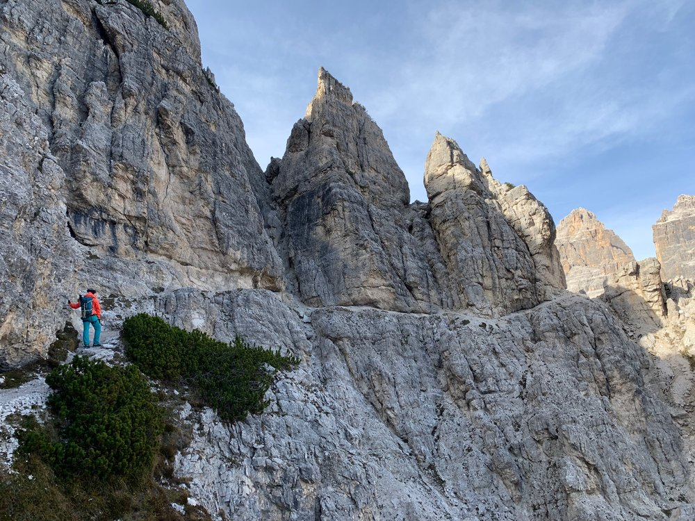 Via ferrata Merlone