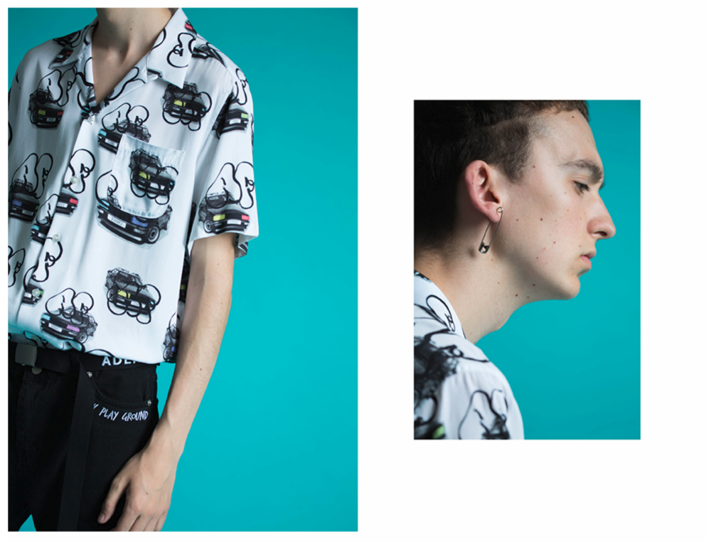 Fig Collective SS 2016 Collection Editorial Retouching