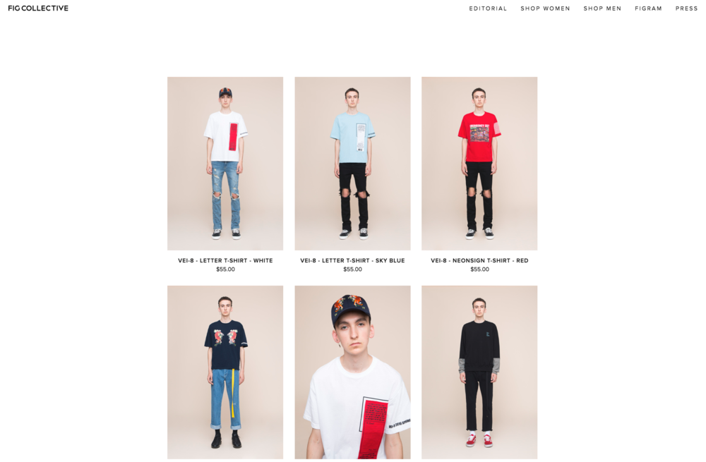 Fig Collective SS 2016 E-Commerce Lookbook Retouching