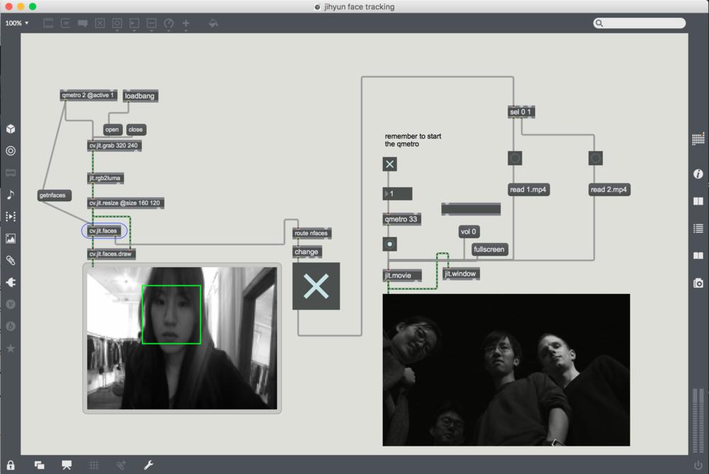 GAZE_ screenshot from MAX program