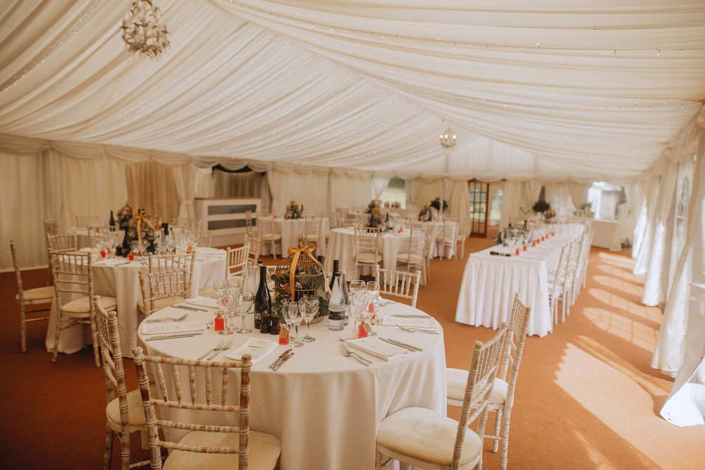 groombridge place wedding marquee