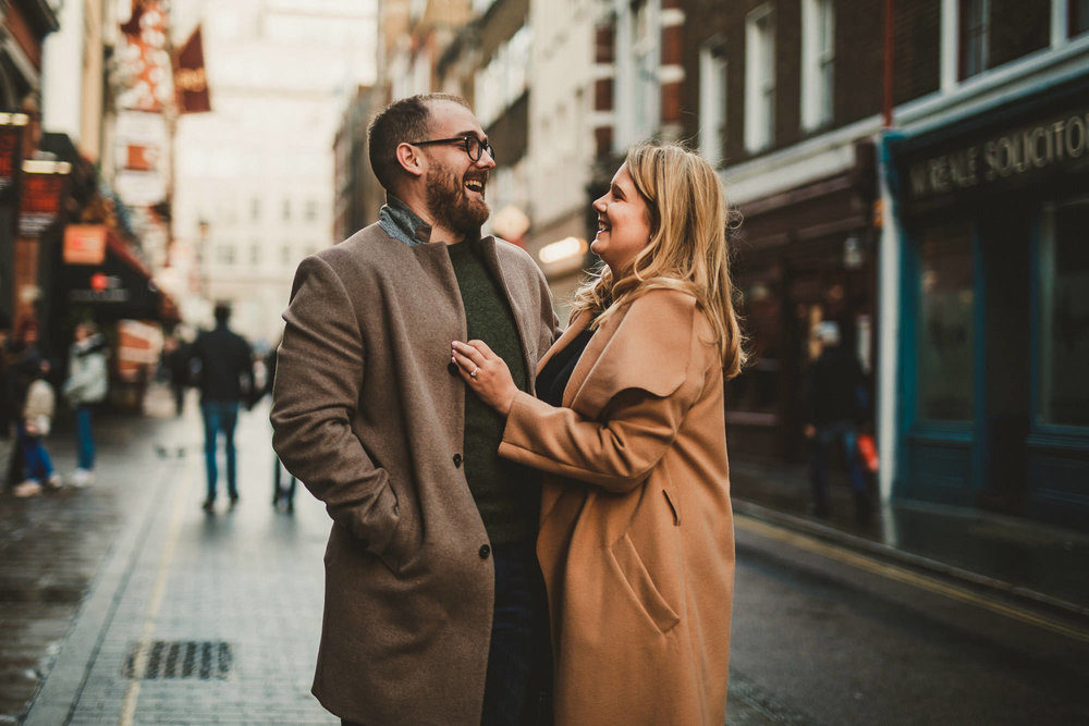 covent garden engagement photogaphy