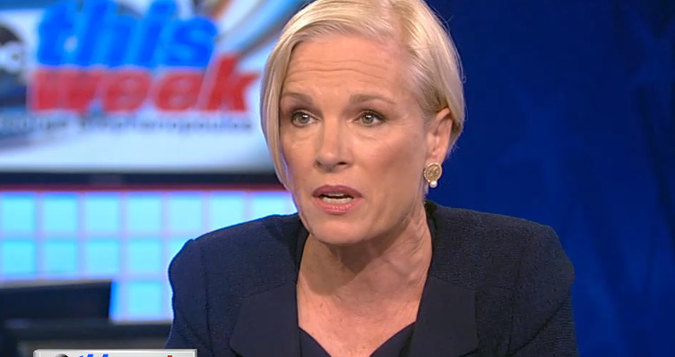 "Cecile Richards is interviewed on ""This Week."""