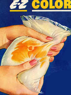 Vintage Oleo color pak makes it look like butter
