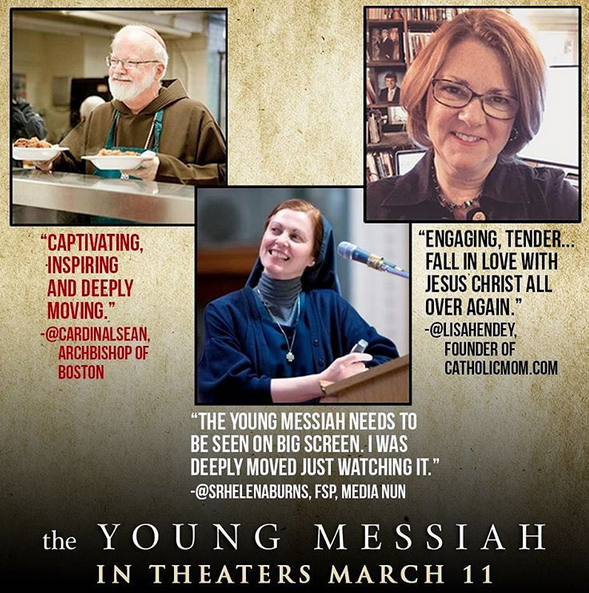 "From The Young Messiah""'s Instagram promotional images"