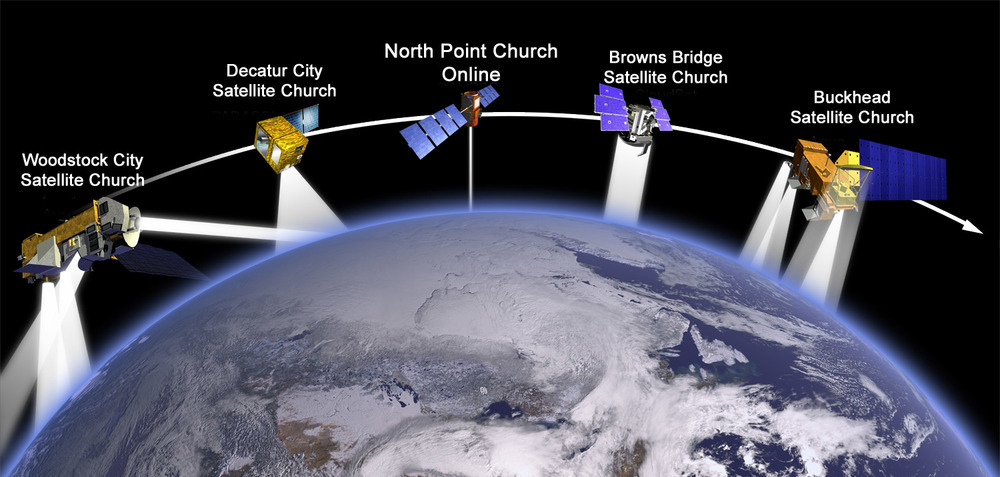 Proposed plan for North Point satellite churches