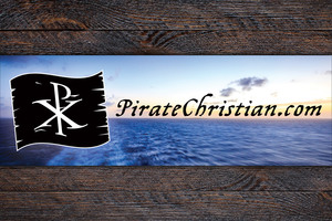 PirateChristian.com Bumper Sticker