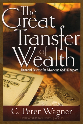 one of c. peter wagner's worthless books promoting dominionism