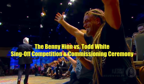 The Benny Hinn vs  Todd White Sing-Off Competition and