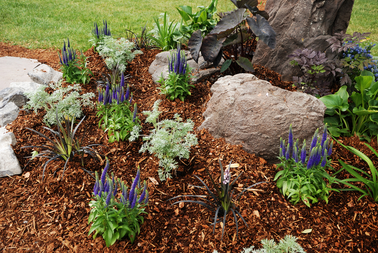 Nature\'s Select Premium Turf Services -Plant Beds & Natural Areas
