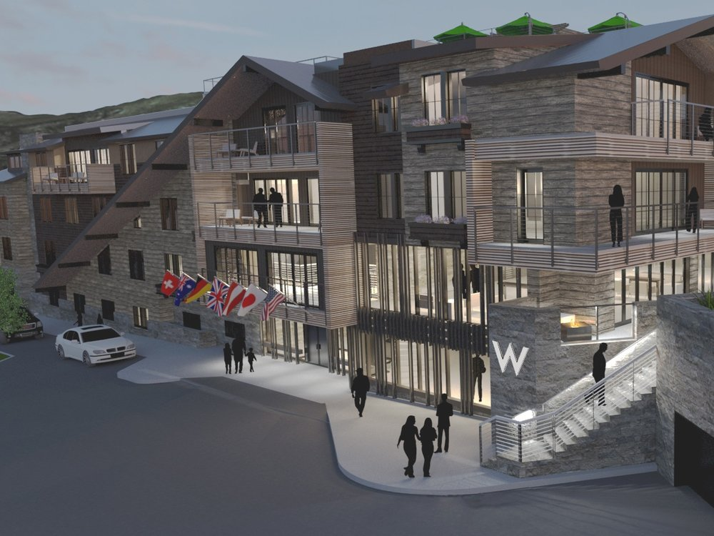 W Aspen and The Sky Residences, Aspen, CO - Luxury Hotel and Residential Development