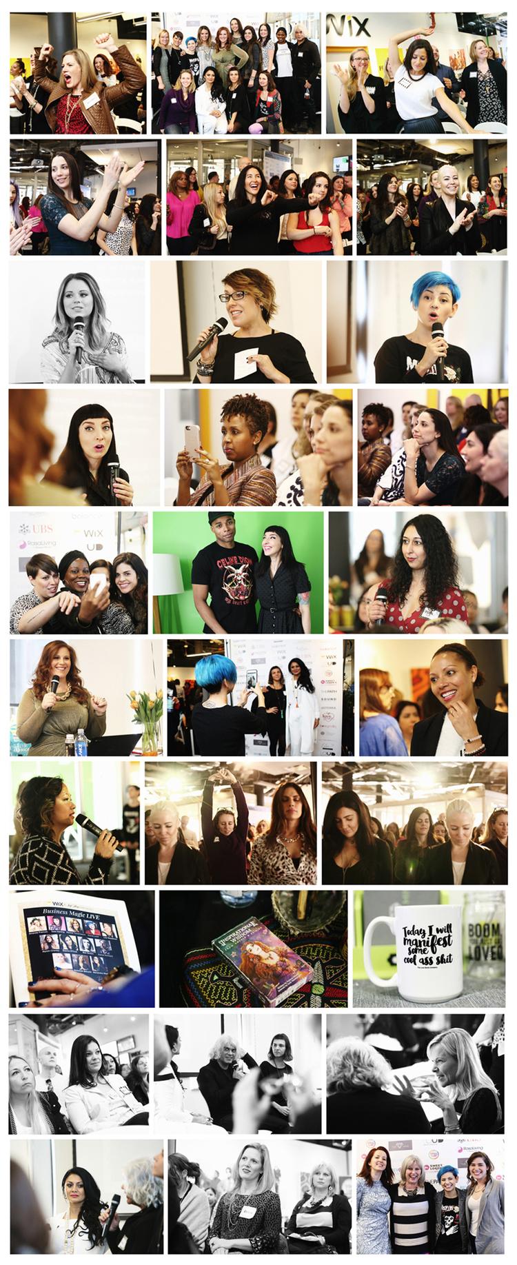 businessmagiclive nyc monika broz amazing speakers included kimra luna amanda s rachel tenenbaum the self help socialite lisa steadman gala darling alyson charles donna d cruz