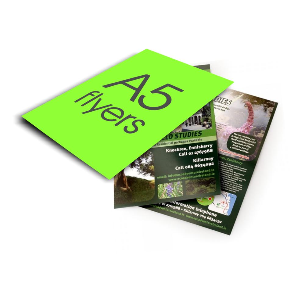 a5 flyer malaga printer the environmental printing company