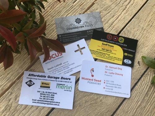Malaga printer the environmental printing company printing in business cards die cut laminated custom size reheart Choice Image