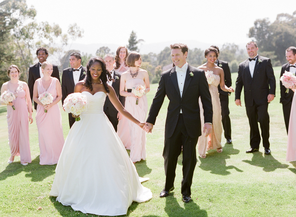 Wedding Ceremony at Montecito Country Club | Miriam Lindbeck | Photography by Anna Costa