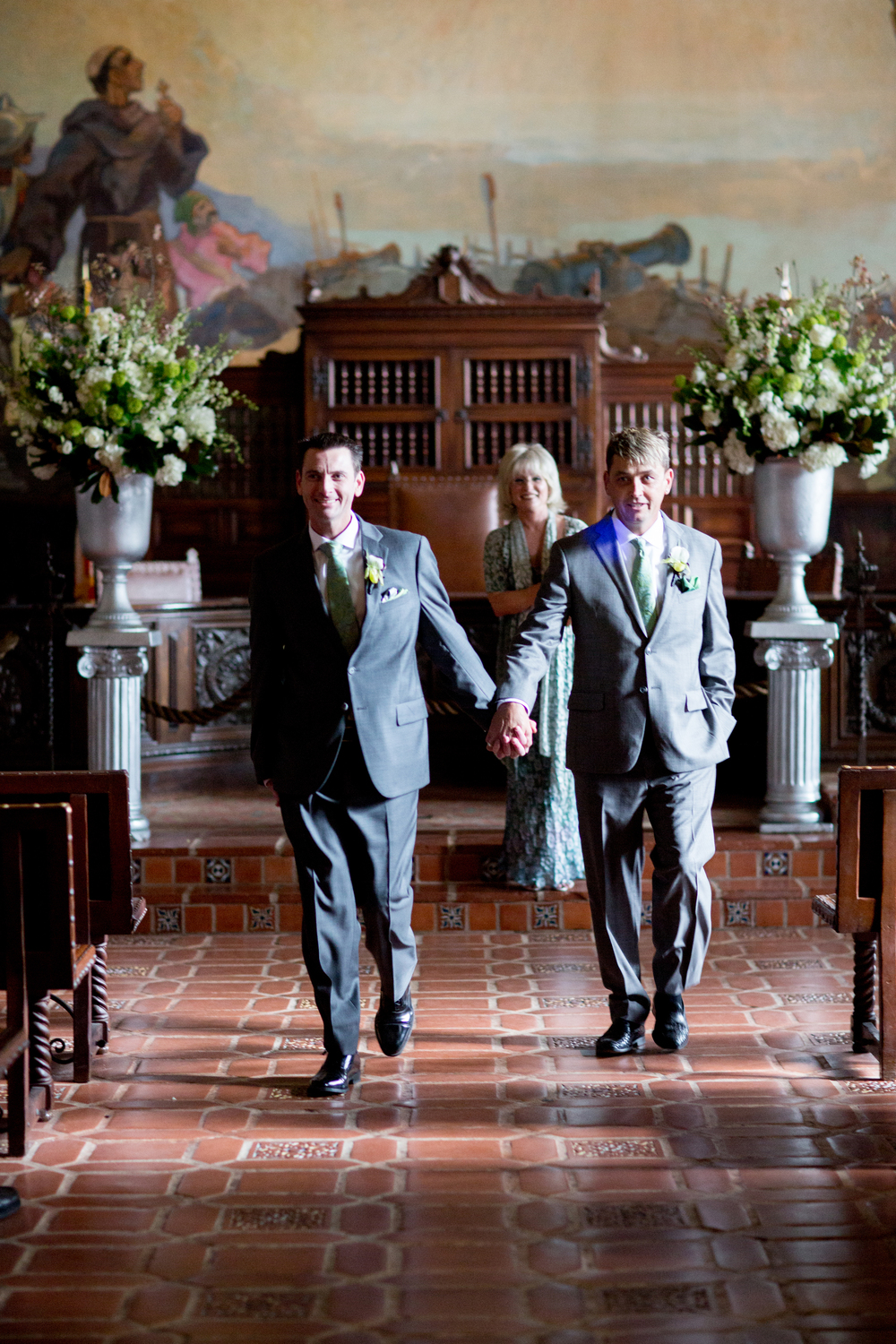Wedding Ceremony at the Santa Barbara Courthouse | Miriam Lindbeck | Photography by Anna Costa
