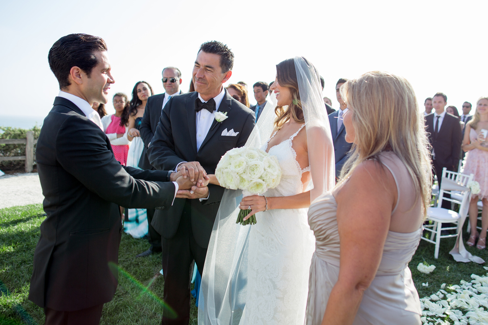 A Wedding Ceremony at Bacara Resort and Spa | Miriam Lindbeck Officiating