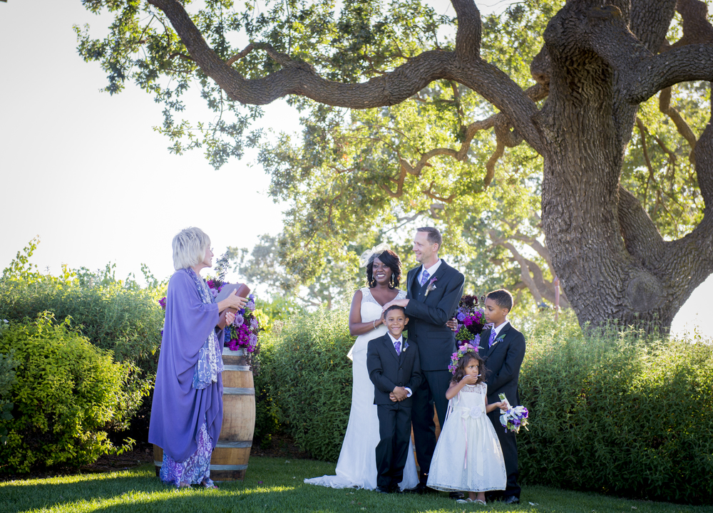 Willa Kveta Photography | Montecito Private Estate Wedding Officiated by Miriam Lindbeck