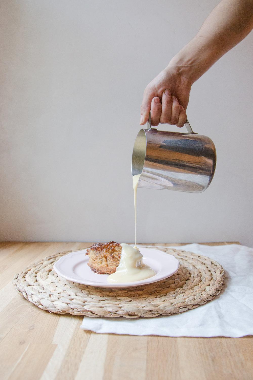 Malva Pudding still life