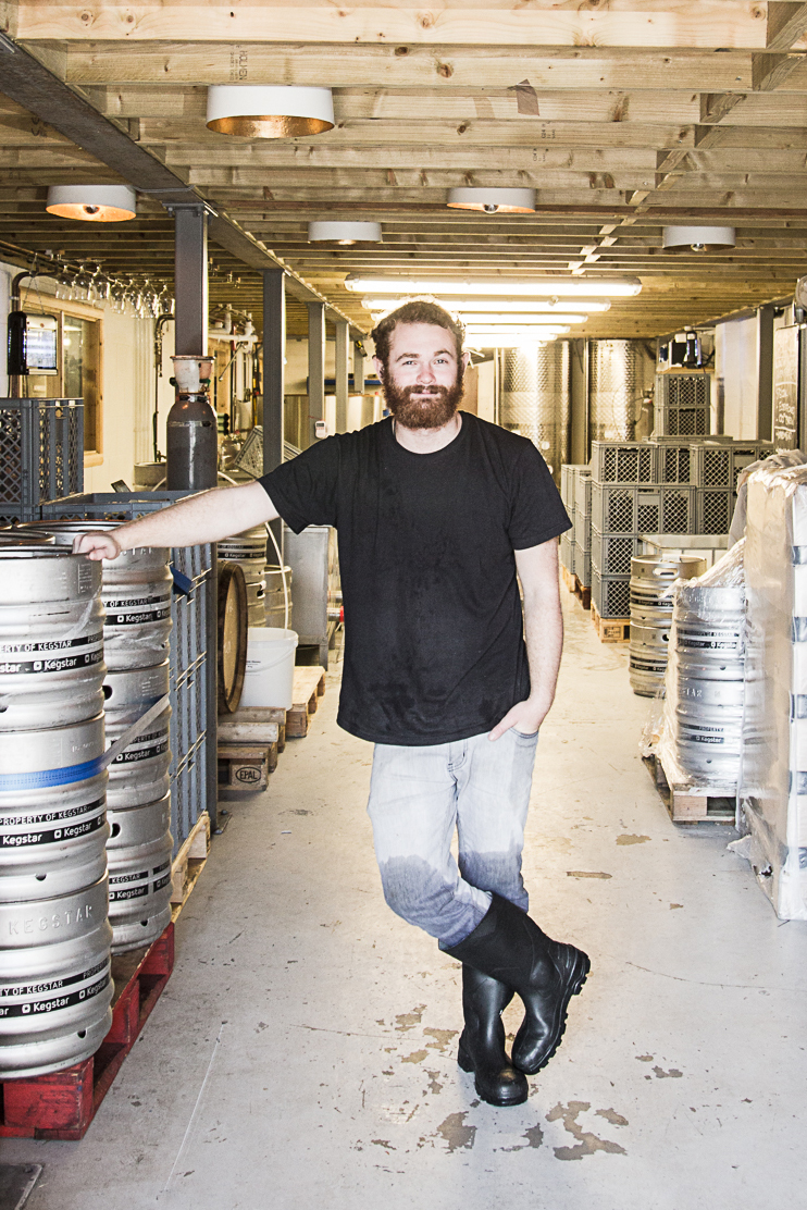 Gosnells head brewer Tom