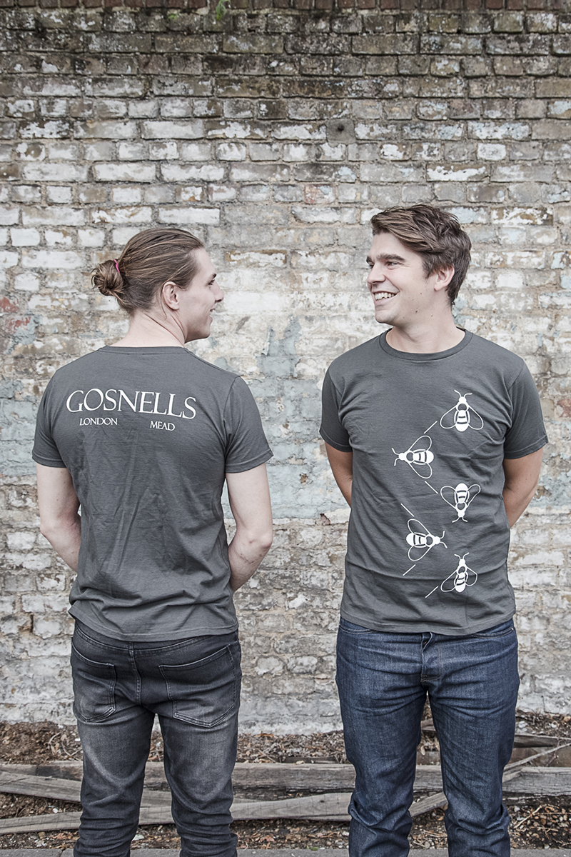 Gosnells guys roped into t shirt modelling