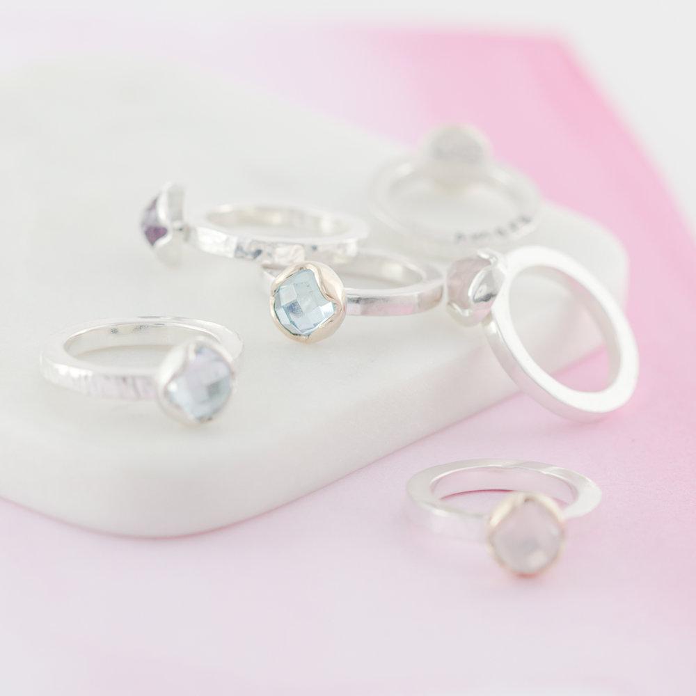 Little silver star jewellery