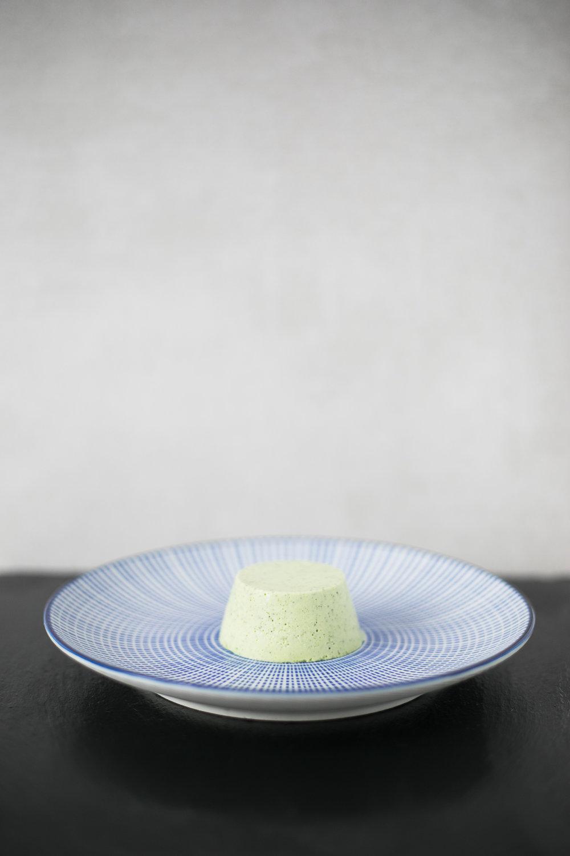 Chloe Edwards food photography Bristol matcha green tea panna cotta with pomegranates heapwell superfoods 2-1238.jpg