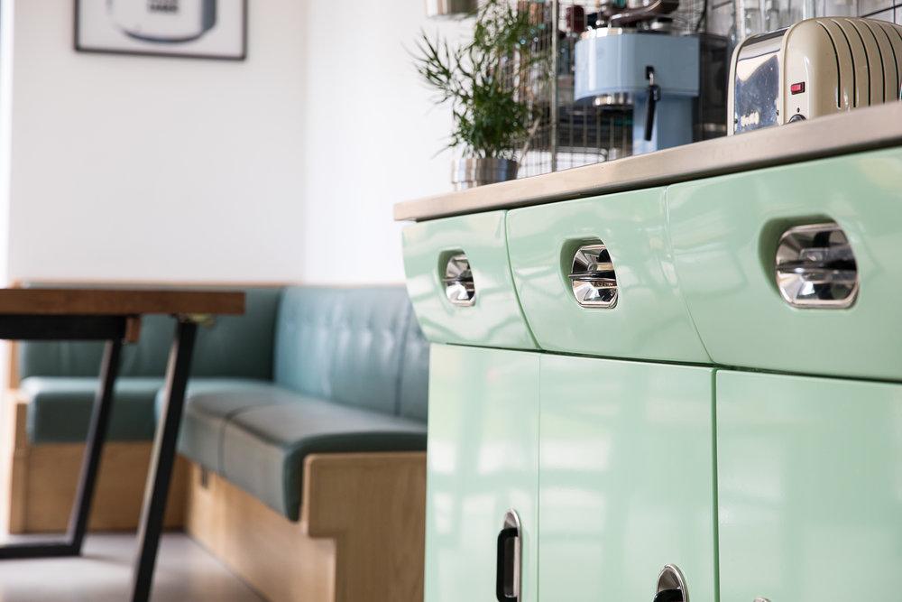 Souce Antiques - Vintage kitchen restoration