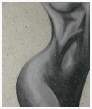 Curves - Charcoal drawing by Pippa-la Doube. Prints for sale www.pippaladoube.com (Please credit me and link to my website if you use this image)
